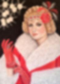 1920s portrait flapper roaring twenties