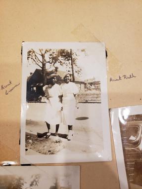 Aunts Julia and Emma (children of Julia Alford)