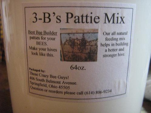 3-B's Pattie Mix  (Makes up to 20 1/2 lb patties)