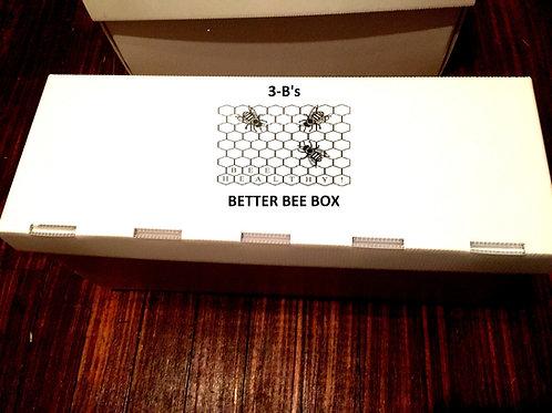 Plastic 5 frame deep nuc box