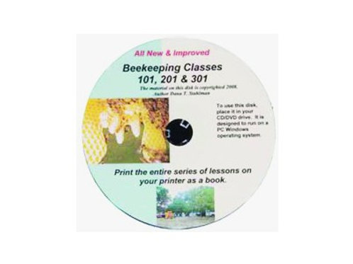 Beekeeping 101-201-301 CD by Dana Stahlman
