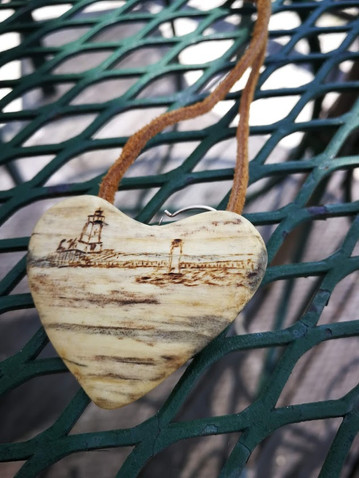 Spalted Heart