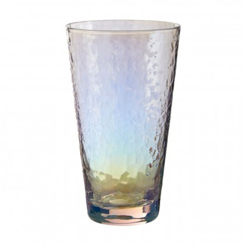 AURORA 4 x 445ML HAMMERED HI BALL GLASSE