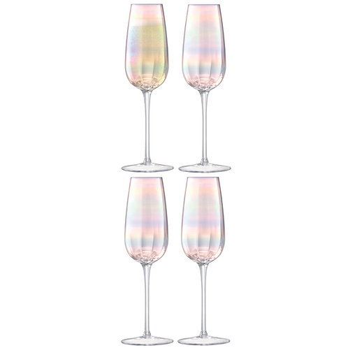LSA Pearl Champagne Flute X 4