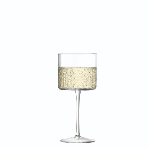 LSA Wicker Wine Glass X 2