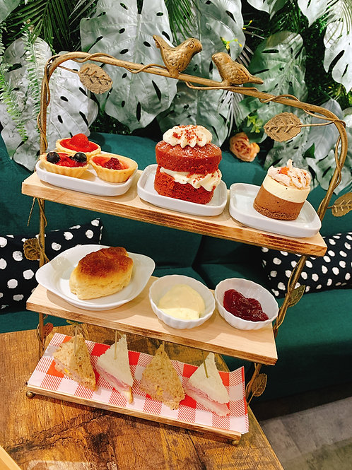 The 3 Tiers Afternoon Tea Booking