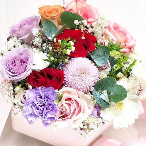 Flower Hat Box (Hexagon)