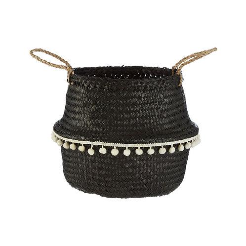 Black Seagrass Basket