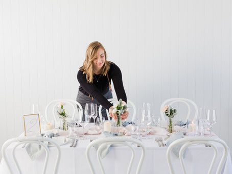 Styled Shoot House of Poppies + Paper, Pier 33 & Adore Flowers
