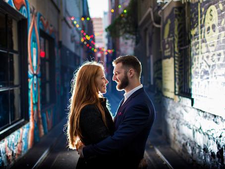 Sarah & Casey - Melbourne CBD