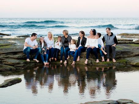 Crowhurst Extended Family - Caloundra