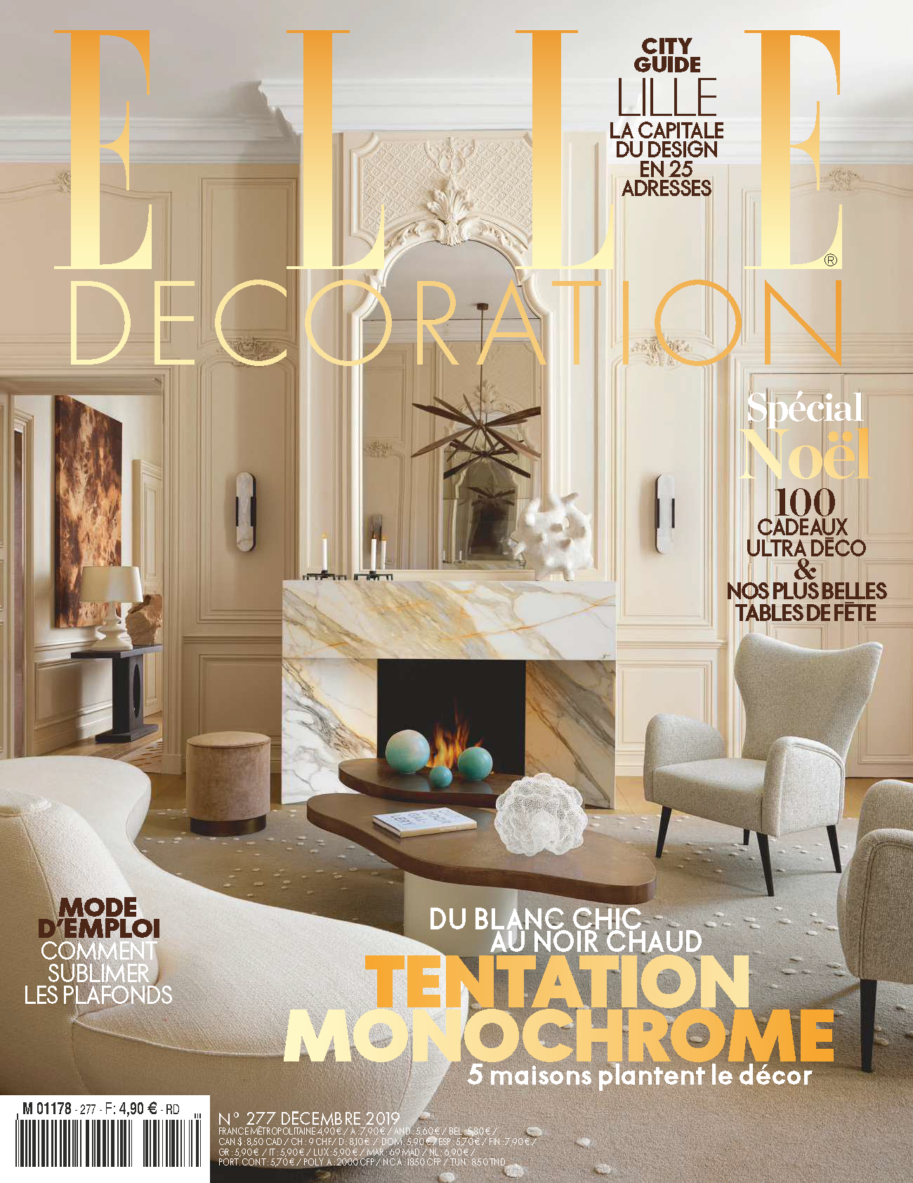MAG - 2019 - ELLE DECORATION COVER FRANC