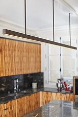 Lustre luminaire laiton, Suspended Light Brass