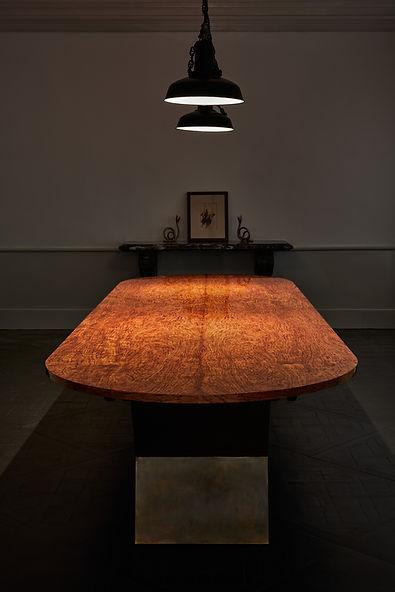 75 Table Bubinga vue en long WEB S Mitte