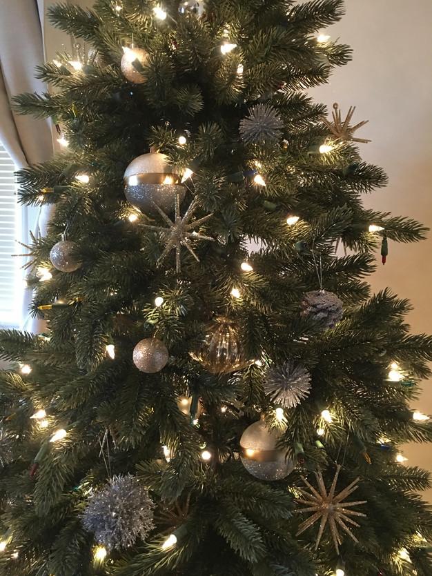 Faux Fur Christmas Tree Skirt. Faux Fur Christmas Tree Skirt With ...