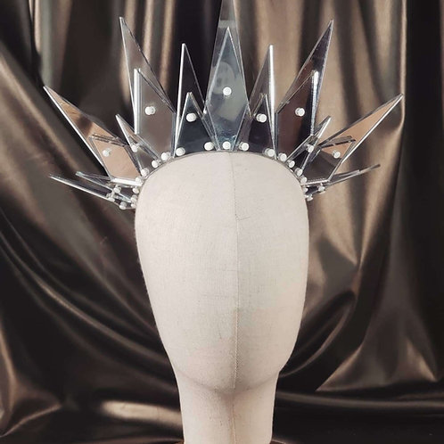 Layered Ghost Mirror Crown