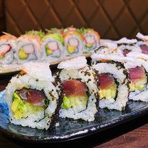 Samurai Roll/Tuna/Rainbow Roll