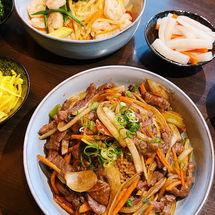 Beef & Onion/ Ebi Itame