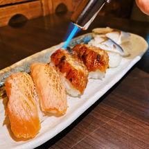 Aburi Set/Salmon/Unagi/Saba