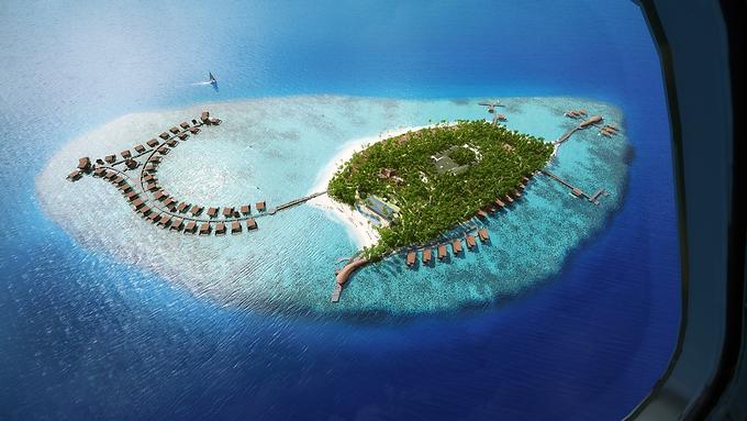 The St. Regis- Vommuli Islands, Maldives