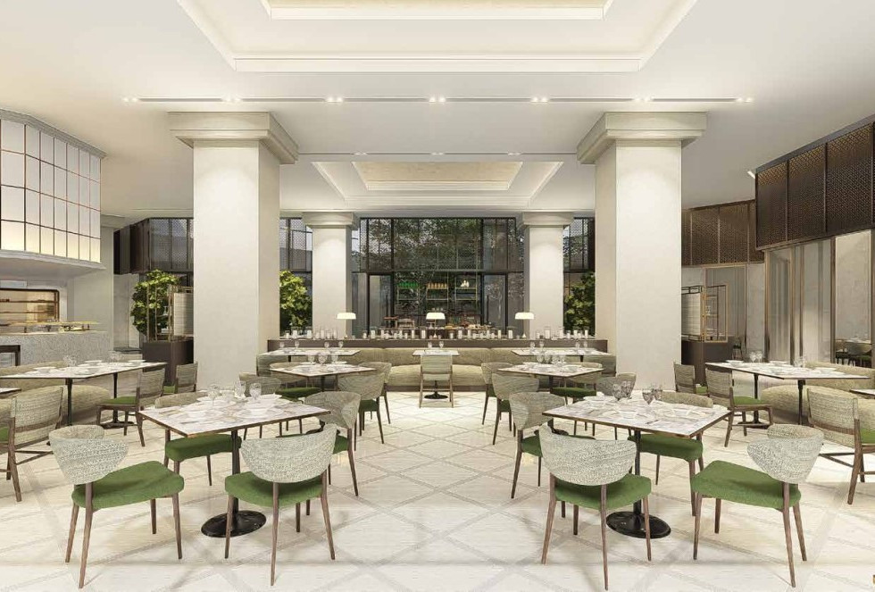 The Leela - All Day Dining Perspective