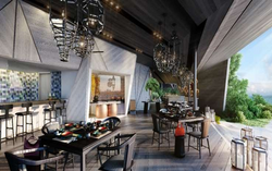 St. Regis by Marriott, Maldives - indian and sushi restaurant display kitchens