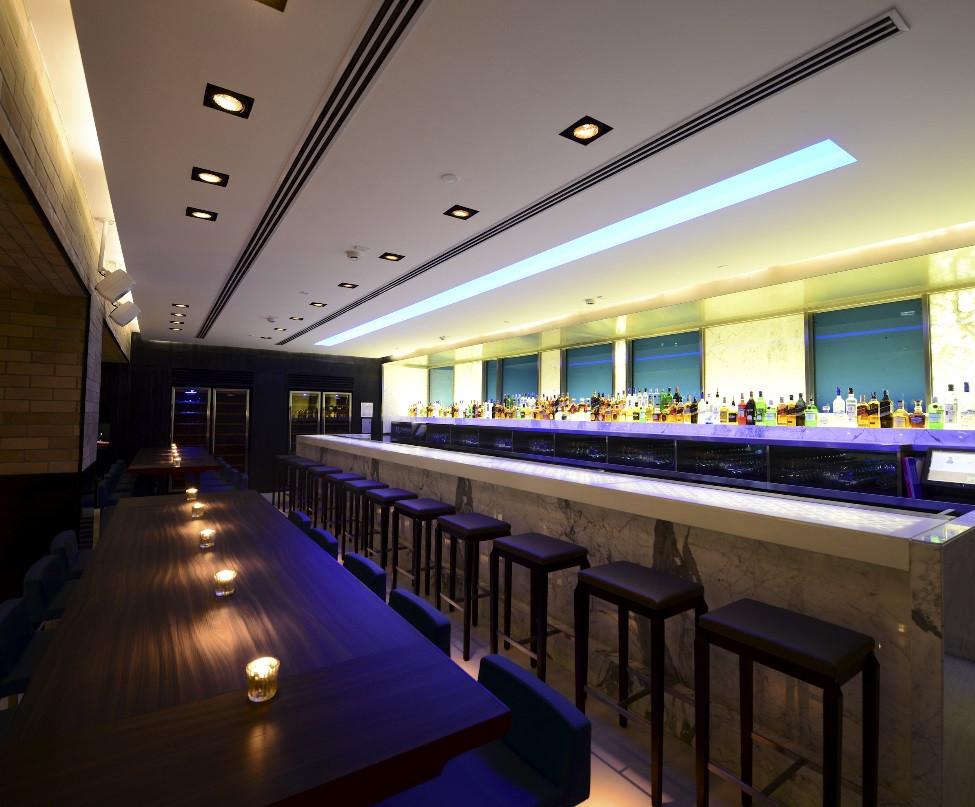 Yauatcha Michellin Star Restaurant Bar