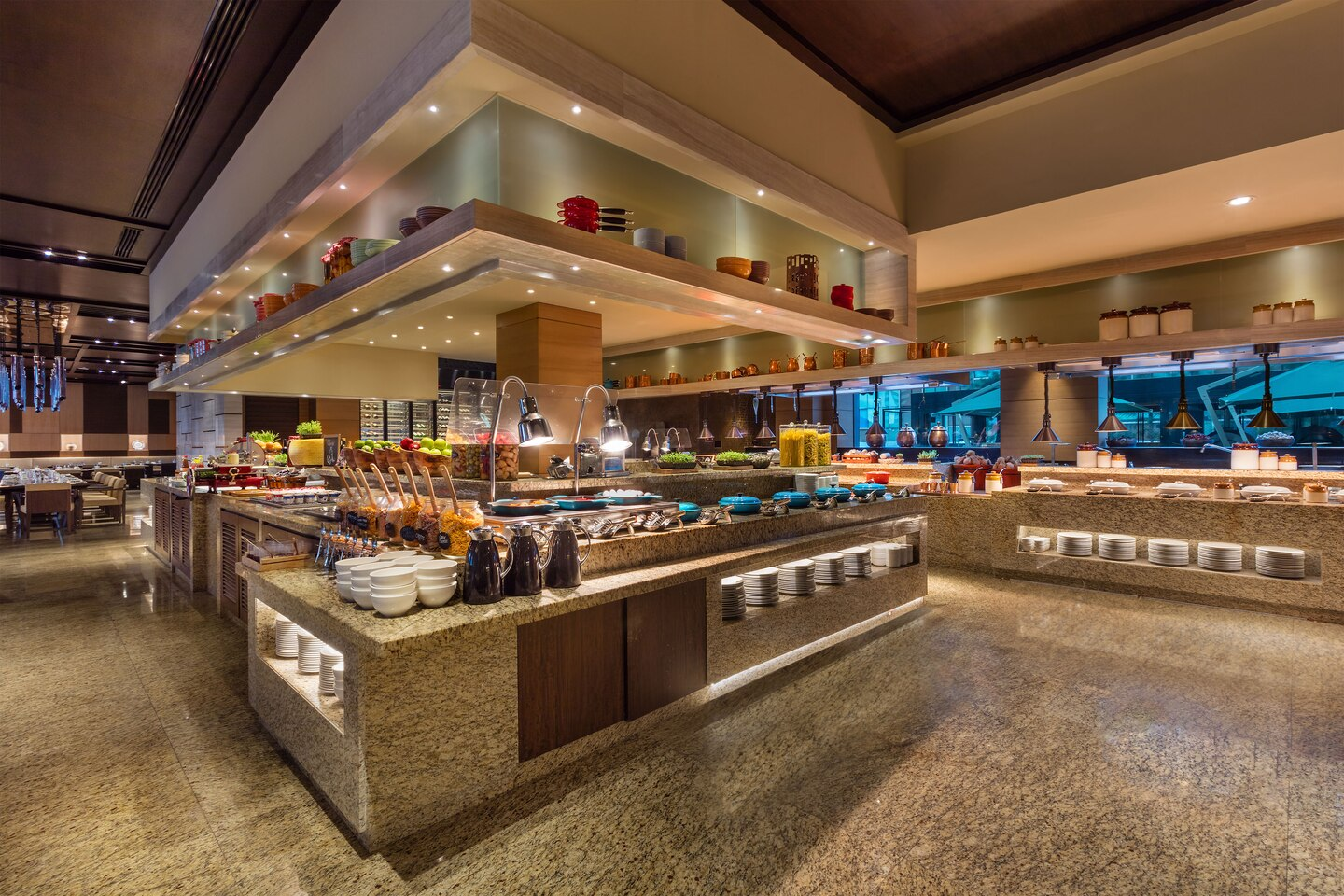 Marriott Sheraton Brigade, Bengaluru - Feast All Day Dining Restaurant