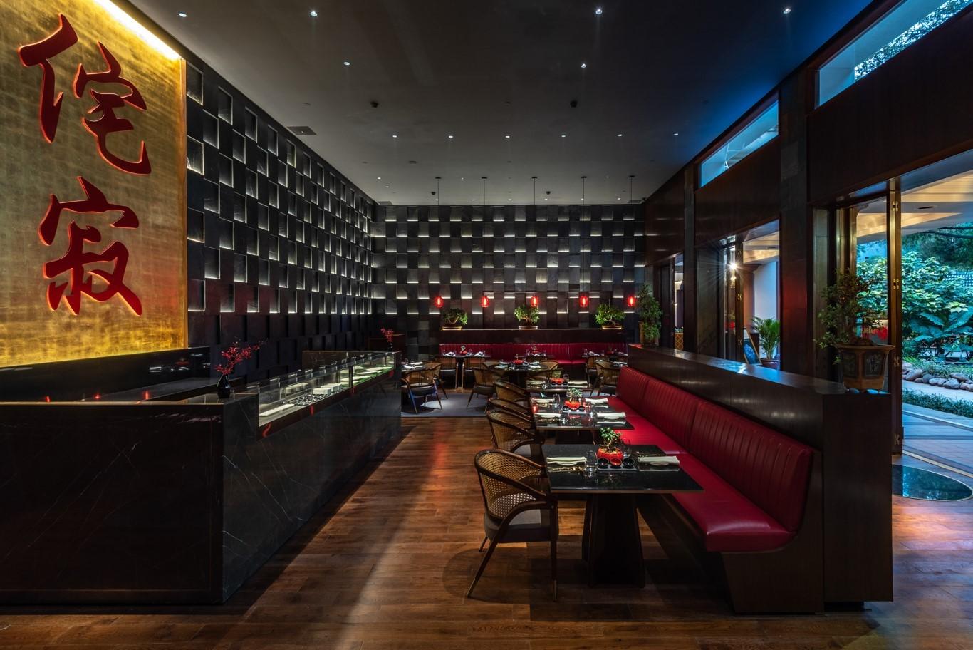 The Oberoi Bengaluru - Wabi Sabi Restaurant Sushi Counter