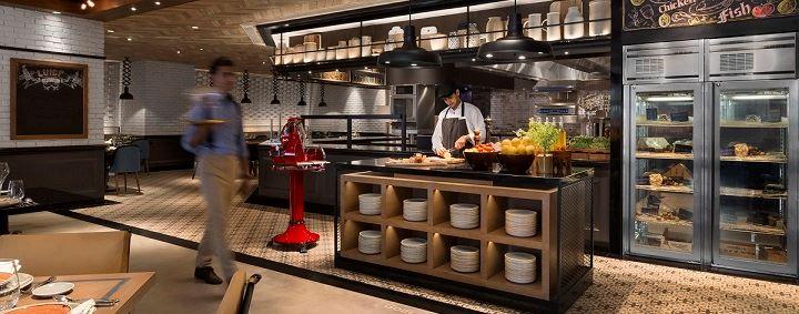 Shangrila New Delhi - Sorrento Italian Restaurant
