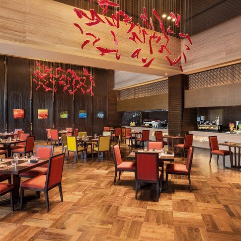 InAzia Asian Restaurant  - Brigade Sheraton by Marriott