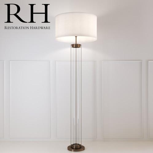 Rh flatiron floor lamp