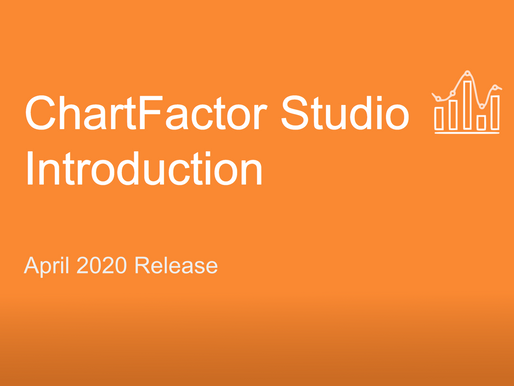 Video Tutorial: ChartFactor Studio Introduction