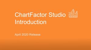 ChartFactor Studio Introduction