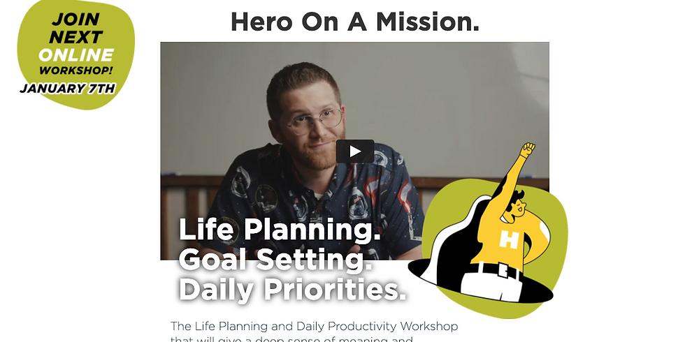 Hero On A Mission Workshop