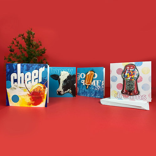 8 Greeting Cards + envelopes