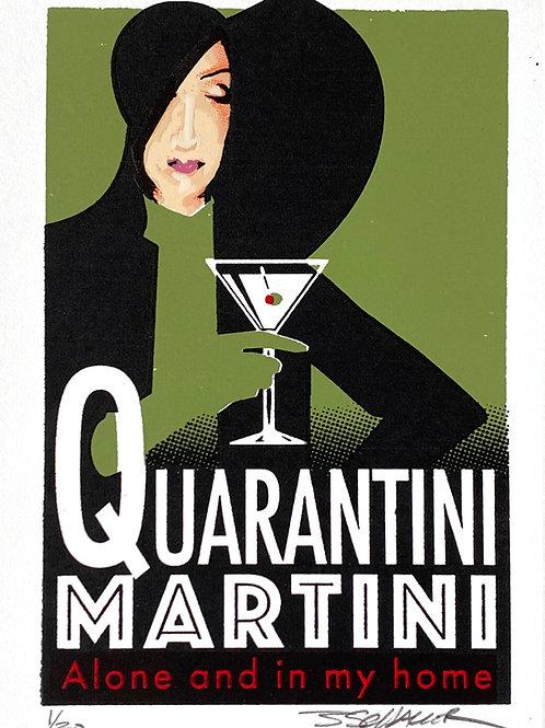 Quarantini Martini - Alone and Home