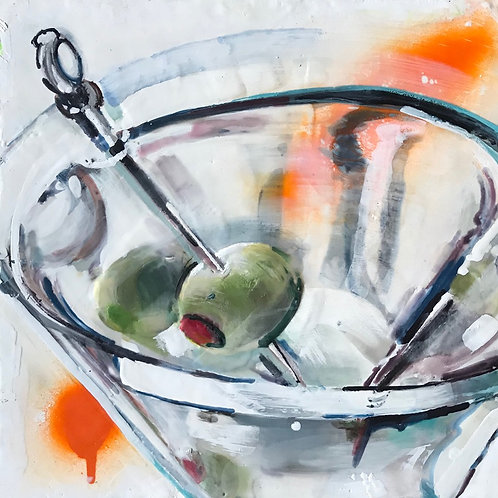 Day 17 - Enjoy Martini (Yellow)