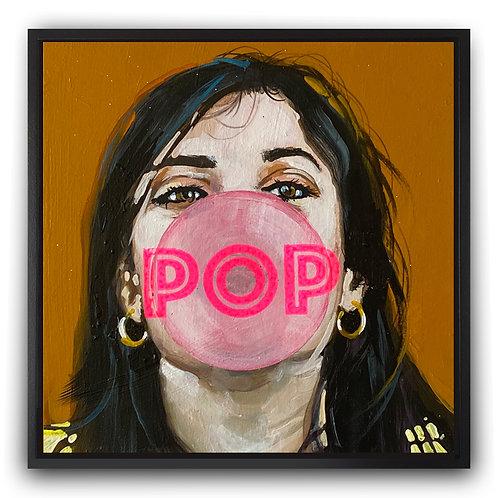 POP Girl on Yellow