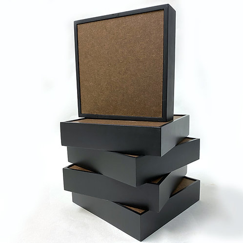 "5 - 6"" x 6"" Black Frame & Board"
