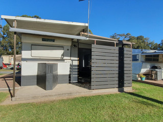Site A060 - Holiday Onsite Annual Van + Annexe  $14,000 - neg