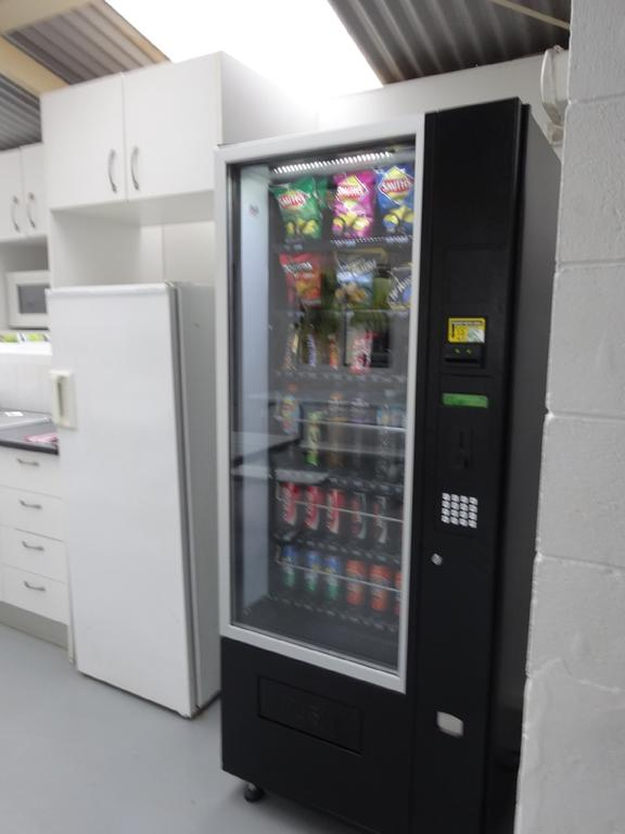 Vending Machine in Camp Kitchen