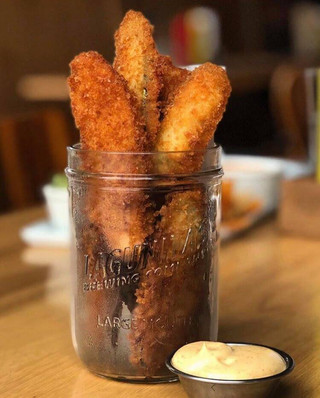 Famous Fried Pickles