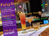 Mardi Gras Cocktials