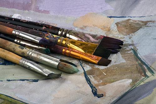 Workshop i akvarel og tusch 7-8 februar 2020