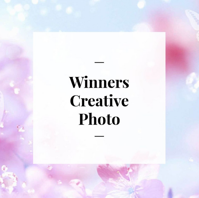 Day 14 - Winners of our Creative Photo!