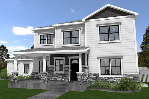 Quaint Cottage - Simplified Plans - Reverse Floor Plan - Download