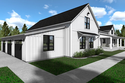 Country Cottage - Simplified Plans - Standard Floor Plan - Download