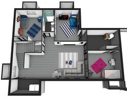 3D Basement Plan