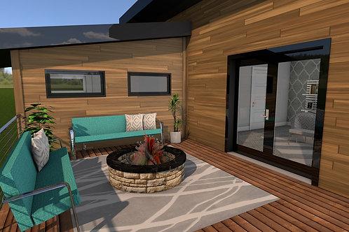 Sept Nouveau - Construction Plans - Standard Floor Plan